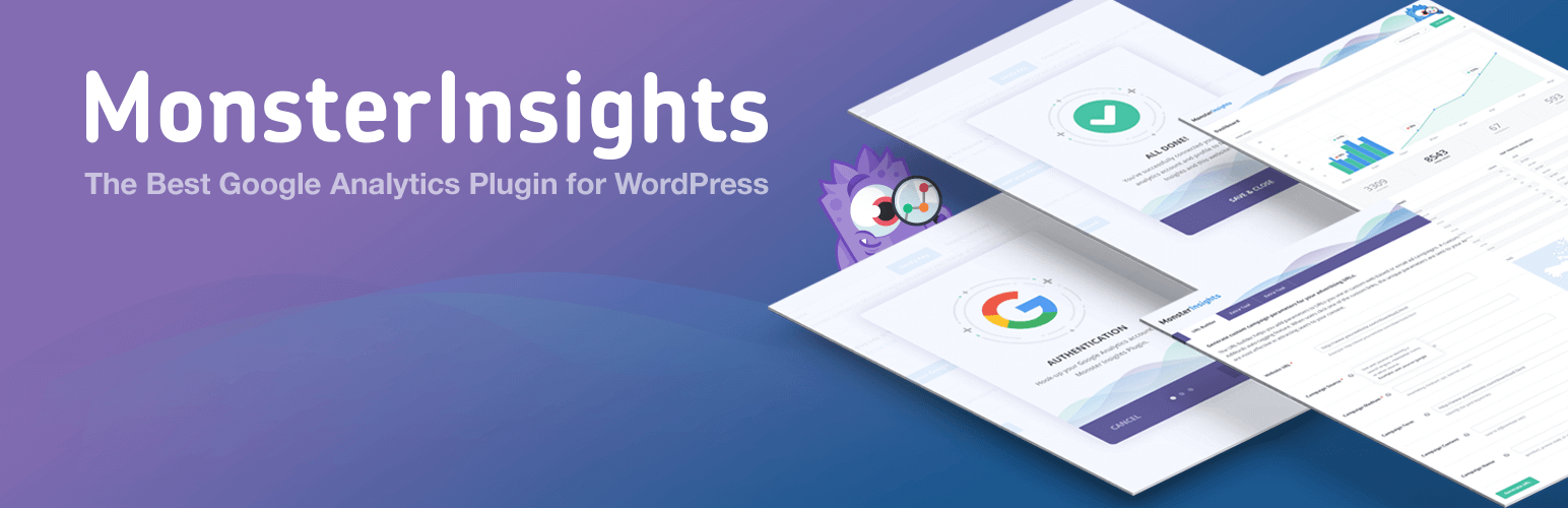 monster insights puts the google analytics information in the dashboard and plugin of your website allowing you to easily and quickly track your analytics. Monsterinsights is one of the best wordpress plugins in 2019