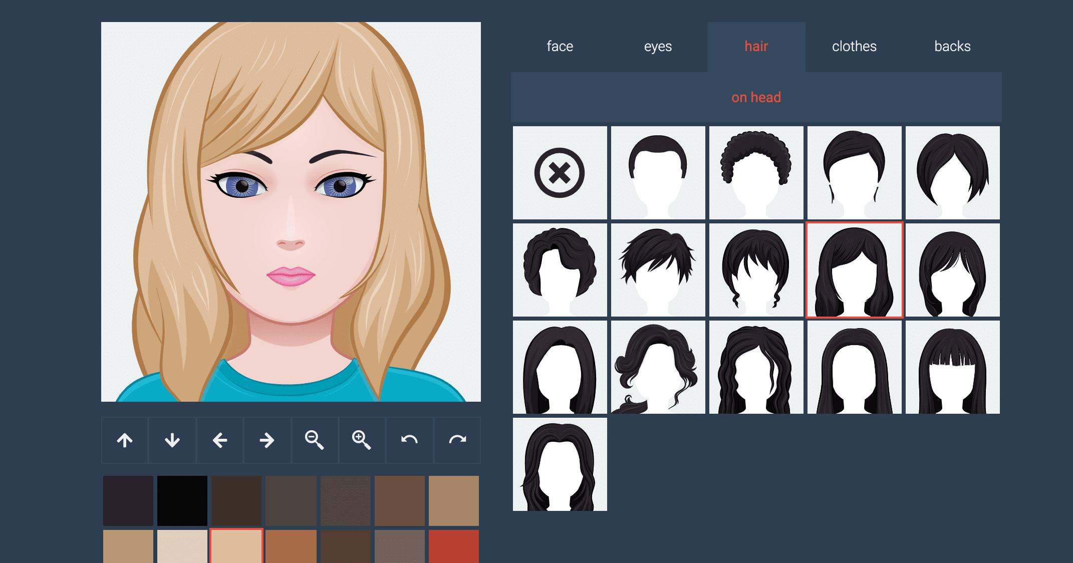 create an avatar - Face Co