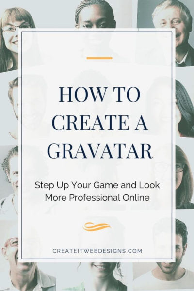 how to setup a gravatar and look more professional online