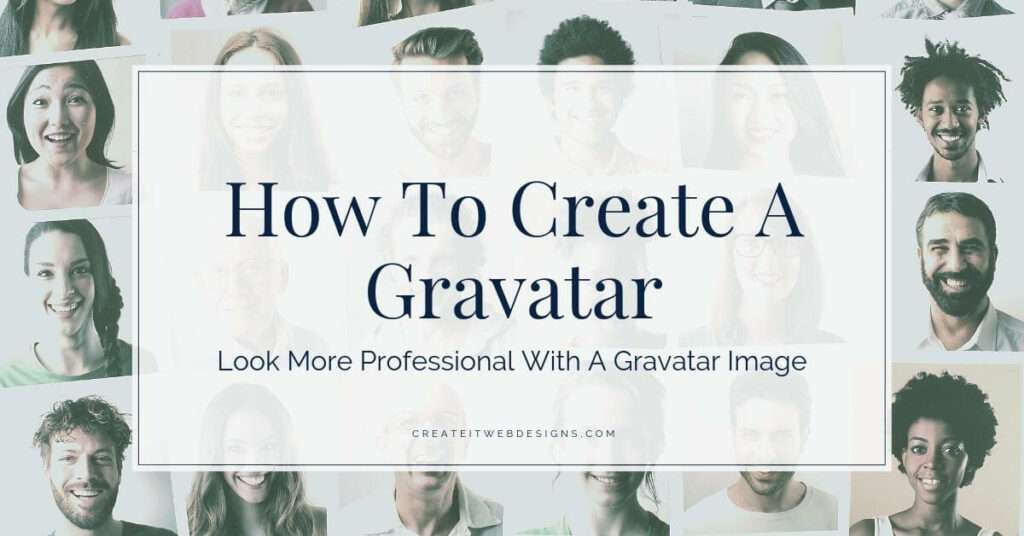 how to create a gravatar and look more professional online