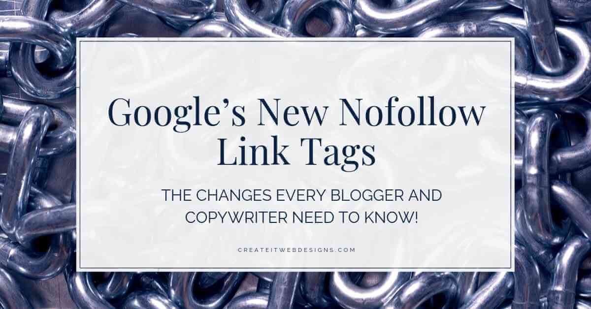 Google New Nofollow Link Tags