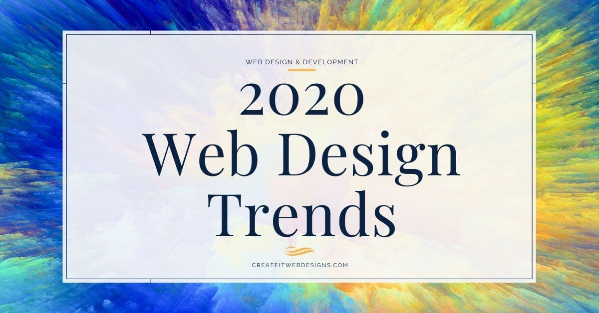 2020 Web Design and Small Business Trends