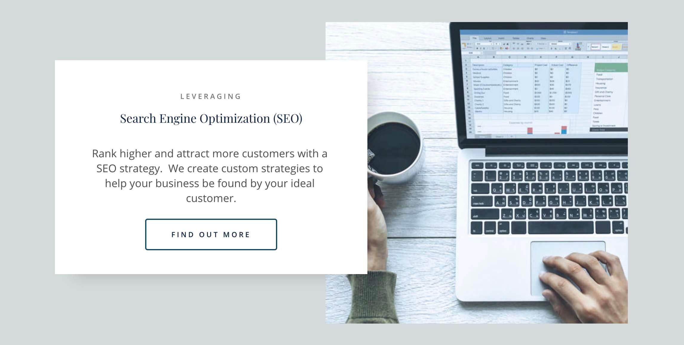 2020 Web Design Trends - Images Overlap