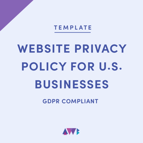 Do I need a privacy policy on my website? - AWB firm website privacy policy