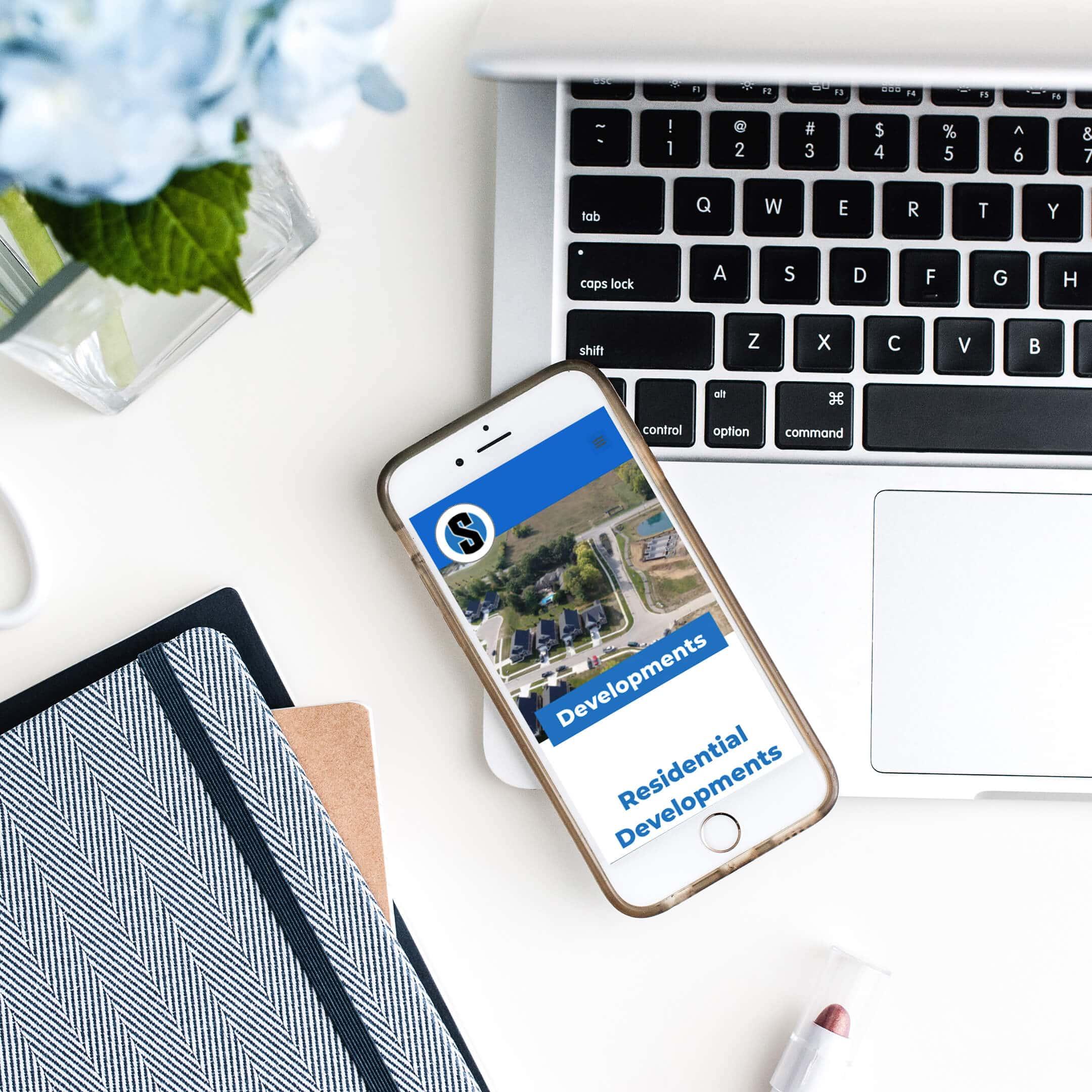 Sunesis Properties of Cincinnati, Ohio Mobile web page