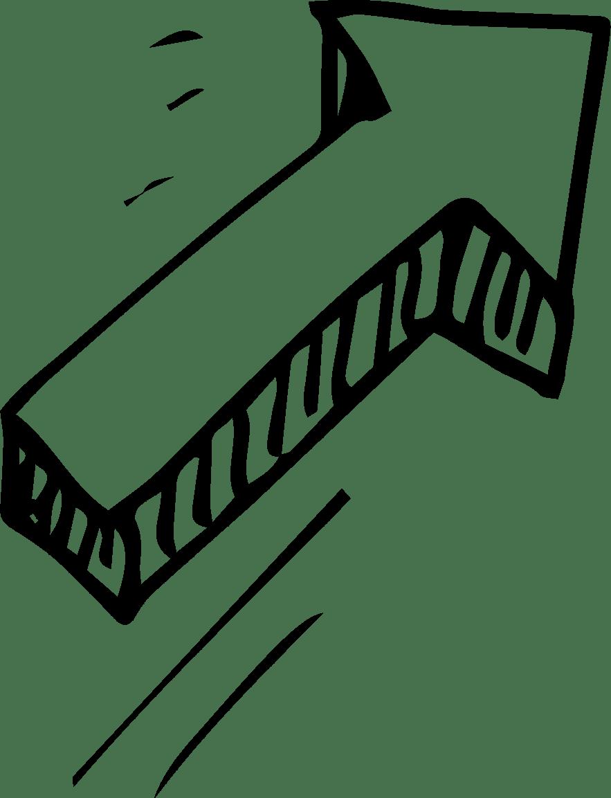 Diagnol up arrow - Growth
