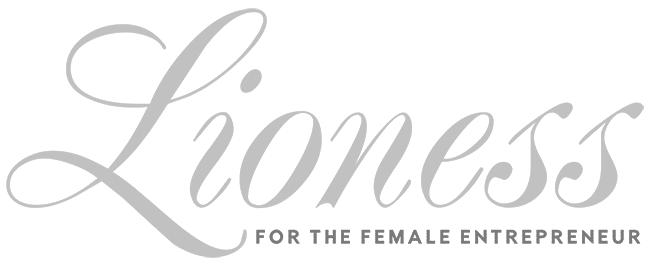 Lioness Magazine Black and White Logo