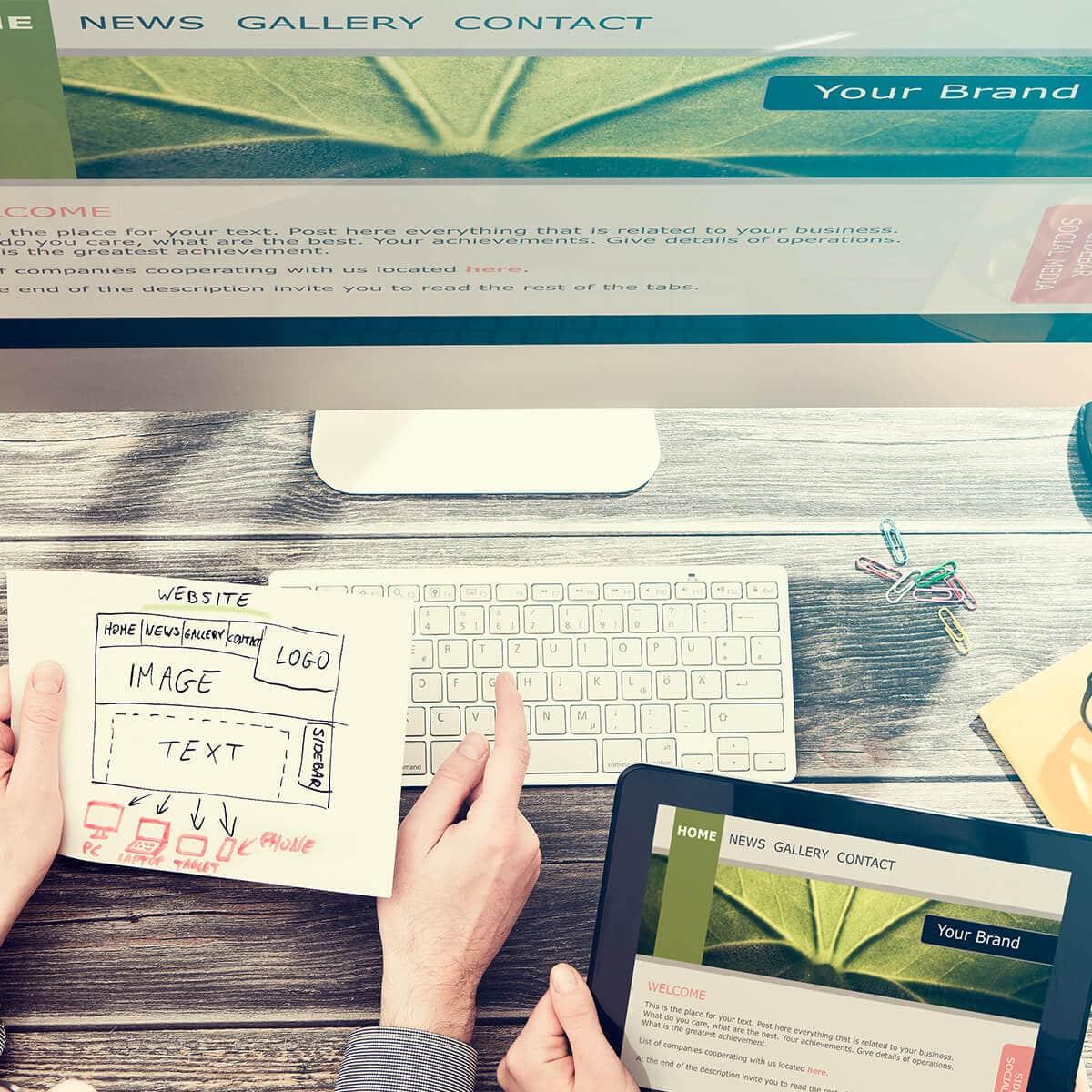 Create IT Web Designs Portfolio