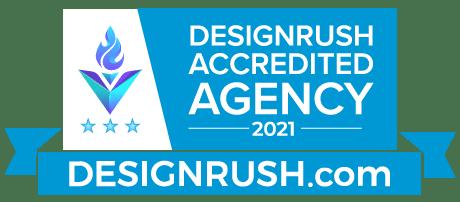 Design Rush Accredited Agency Badge