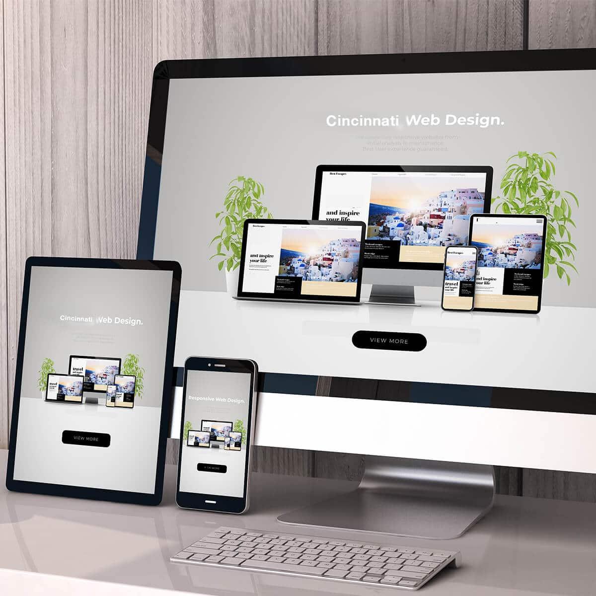 Cincinnati Web Design and Development, WordPress & Shopify Sites, SEO, and Digital Marketing